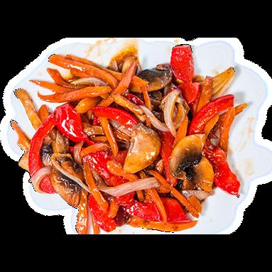 Овощи в кисло-сладком соусе [+$1.84]