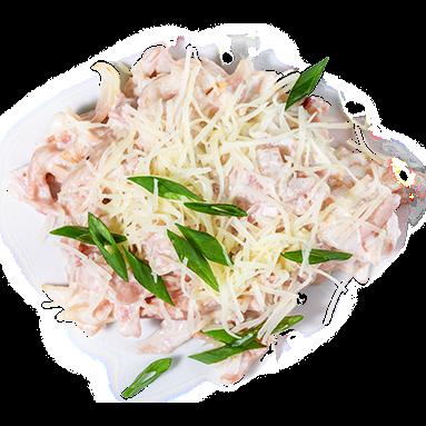 Копчености в сливочном соусе [+$3.88]